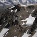Blick in die Steilhänge unter dem Rossboden