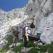 beim Abstieg vom Multereck