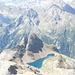 L'altro Lago Nero, quello italiano, sovrastato dal Corno Talli