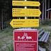 Start zur Nachtwanderung auf die Kürsinger Hütte: der Parkplatz Hopfeldboden.
