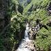 Schluchtweg im Val di Prato