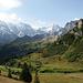 Alpenpanorama, wie es sich gehört.