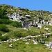 Alpe Gagnone - die Schafe folgen dem alten Weg