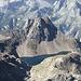 <b>Lago Nero (2428 m), in Val Formazza, con il Corno Talli (2703 m).</b>