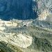 Ai piedi del suo ghiacciaio sud, la capanna Sidelenhütte a 2708mt