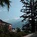 """...dafür präsentiert sich das erste Gipfelziel, der Visagno, eher """"nuvoloso"""" als """"claro""""."""