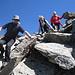 Abstieg vom Riffler-Gipfel