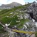 Seit 2011 neue Wegführung im oberen Bereich und neu Bach Überquerung über kleine wilde Schlucht