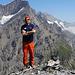alpinbachi mit waggeligen Beinen vom Aufstieg...