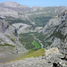 Blick retour Felsbrocken ist Pt 2390 (…glaube ich zumindestens…)