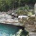 Brückenspringer im Badeort Lavertezzo, wird wegen den Gefahren von den EInheimischen nicht gerne gesehen und die Gefahr auch oft unterschätzt!