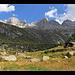 Casera Porcellizzo e la testata della valle