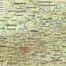 Karte mit der Lage vom Großglockner (3798m) in Österreich.
