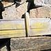 Materiale vario sulla cima del P. di Ruino