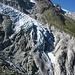 10 ans plus tôt, le glacier formait encore une langue glaciaire descendant jusque dans la cuvette