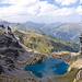 Schottensee im Aufstieg zu den Schwarzen Hörner