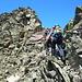 Blockgelände beim Aufstieg zum Grossen Seehorn