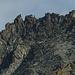 Das luftige Turmsystem zwischen Besso und Blanc de Moming