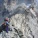 Die letzen Meter des Mammout sind am schönsten auf der Gratschneide, können aber auch links (Westen) umgangen werden. <br />Foto CJ