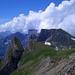 Quellende Wolken über Gamsberg, Alvier und Co