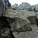 Le rocce che sporgono, siamo a 2880mt