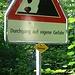 Achtung, jetzt wirds gefährlich. Wer ohne Helm geht ist selbst schuld...;)