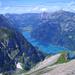 Klöntalersee – Tiefblick vom Gipfel