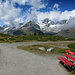 Nicht viel los heute oberhalb von Zermatt