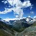 Ausblick von der Gletschermoräne