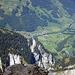 Ofen-Gipfel; nach Elm gehts rund 1900 m runter