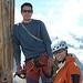 Sebi und Yve auf dem Gipfel des Jegihorn