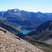 Lago di Morasco con il Piano dei Camosci