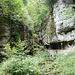 der untere Eingang zur Twannbachschlucht
