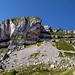 Das Ifenmassiv, der Gipfel ist ganz rechts.