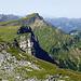 Benachbarte Gipfel des Ifen sehen sehr ähnlich aus. Hier der Diedamskopf.