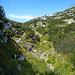 Beim Abstieg vom Gottesacker glaubt man sich in Sardinien oder sonst wo im Mittelmeer, aber sicher nicht im Allgäu!