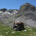 Auf dem Rusenna Pitschna, links das Kuhtal - meine Aufstiegsroute