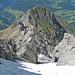 Abstieg über den NW-Grat, im Blickfeld Piz S-chalambert Dadora
