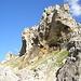 Imponenti formazioni rocciose in prossimità dell'Arco della Greina