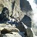 Ridge climb