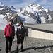 Blick von der Diavolezza zum Piz Bernina