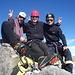 Am Gipfel des Piz Bernina