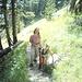 Aufstieg auf dem Leckbachweg