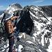 Chli Ruchi, von hier sieht er wie ein Berg aus. Nur dazwischen liegt noch das Drahtseilfurggeli, das die einzige nennenswerte Schwierigkeit auf dieser Tour darstellt.