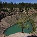 Inyo Craters. Am südlichen Krater.