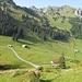 Die Schatten werden länger auf der Alp Türlisboden