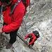 Abwechslungsreicher Klettersteig zur Gonella-Hütte