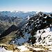 Gipfelaussicht nach Südosten Richtung Graubünden.