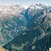 Panorama Urner Alpen Ost.