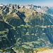 Die vielgipfeligen nördlichen Urner Alpen.